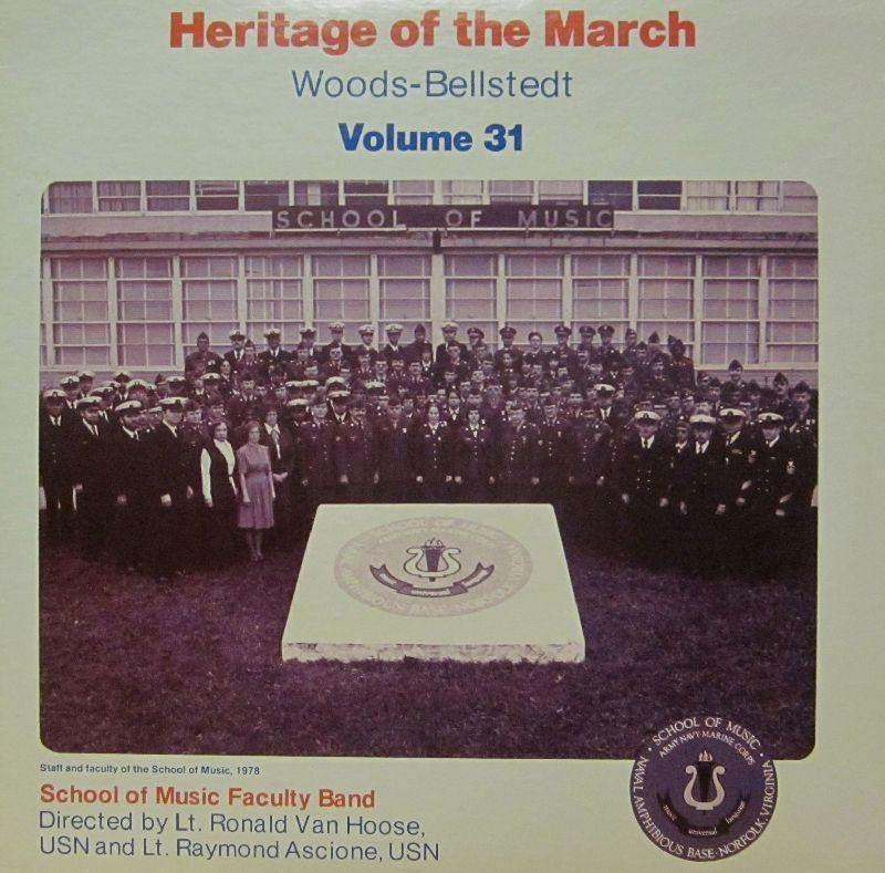 School of Music Faculty Band-Heritage Of The March: Volume 31-Vinyl LP