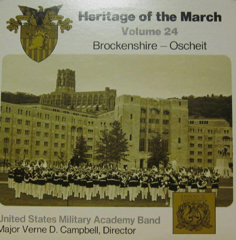 United States Miltary Academy Band-Heritage Of The March: Volume 24-Vinyl LP