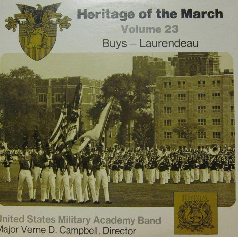 United States Miltary Academy Band-Heritage Of The March: Volume 23-Vinyl LP