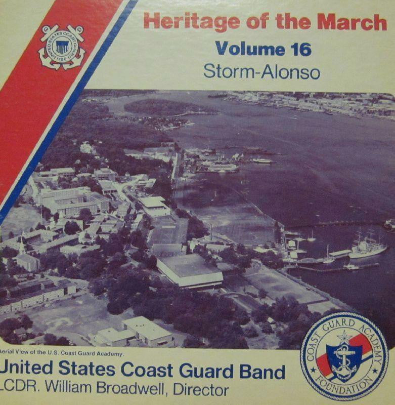 United States Coast Guard Band-Heritage Of The March: Volume 16-Vinyl LP