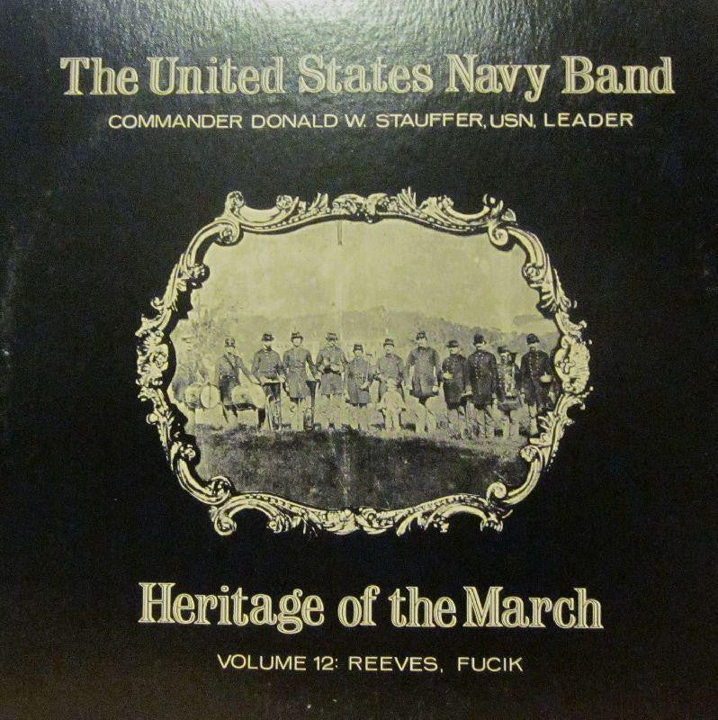 United States Navy Band-Heritage Of The March: Volume 12-Vinyl LP