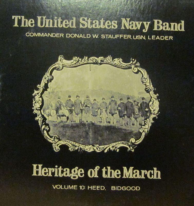 United States Navy Band-Heritage Of The March: Volume 10-Vinyl LP