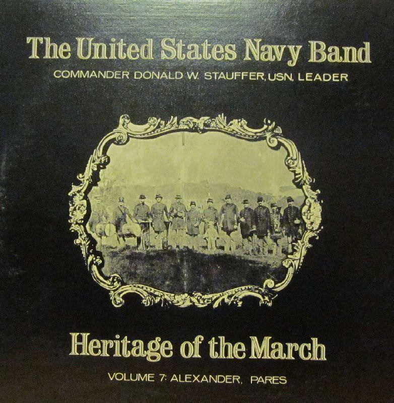 United States Navy Band-Heritage Of The March: Volume 7-Vinyl LP
