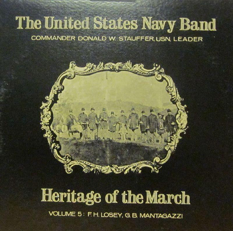 United States Navy Band-Heritage Of The March: Volume 5-Vinyl LP