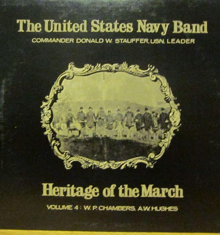 United States Navy Band-Heritage Of The March: Volume 4-Vinyl LP