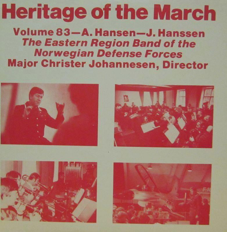 The Eastern Region Band of The Norwegian Defense Forces-Heritage Of The March: Volume 83-Vinyl LP