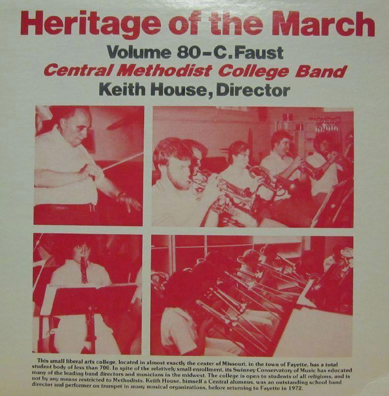 Central Methodist College Band-Heritage Of The March: Volume 80-Vinyl LP