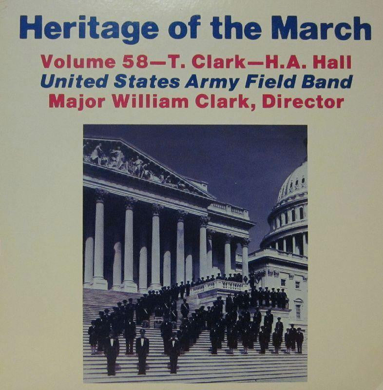 United States Army Field Band-Heritage Of The March: Volume 58-Vinyl LP