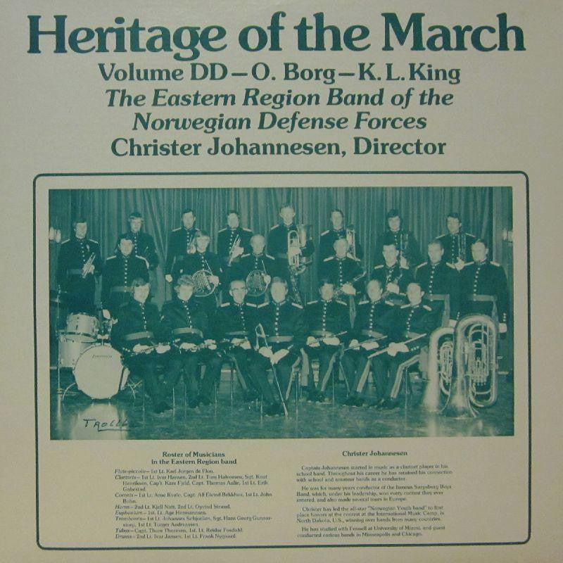 The Eastern Region Band of The Norwegian Defense Forces-Heritage Of The March: Volume DD-Vinyl LP