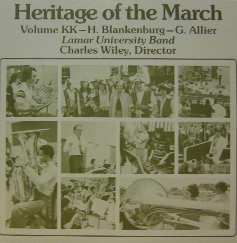 Lamar University Band-Heritage Of The March: Volume KK-Vinyl LP
