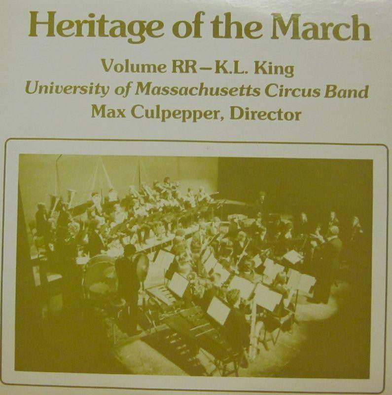 University of Massachusetts Circus Band-Heritage Of The March: Volume RR-Vinyl LP
