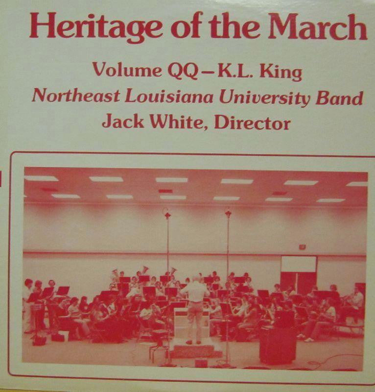 Northeast Louisana University Band-Heritage Of The March: Volume QQ-Vinyl LP