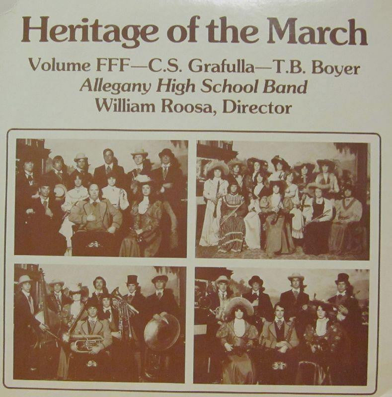Allegany High School Band-Heritage Of The March: Volume FFF-Vinyl LP