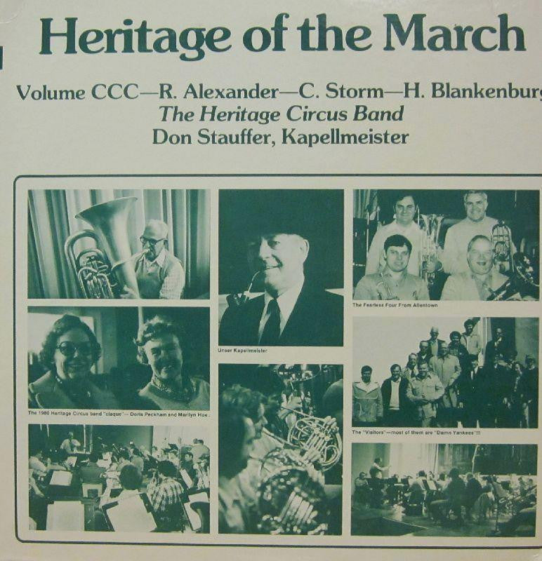 The Heritage Circus Band-Heritage Of The March: Volume CCC-Vinyl LP