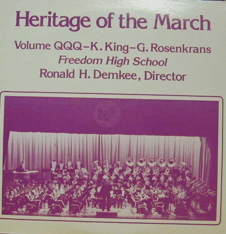 Freedom High School-Heritage Of The March: Volume QQQ-Vinyl LP
