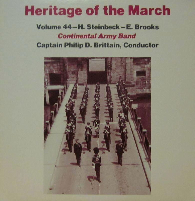 Continental Army Band-Heritage Of The March: Volume 44-Vinyl LP
