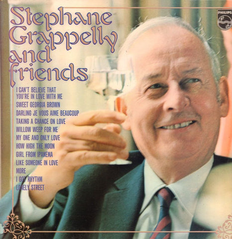 Stephane Grappelli-And Friends-Philips-Vinyl LP