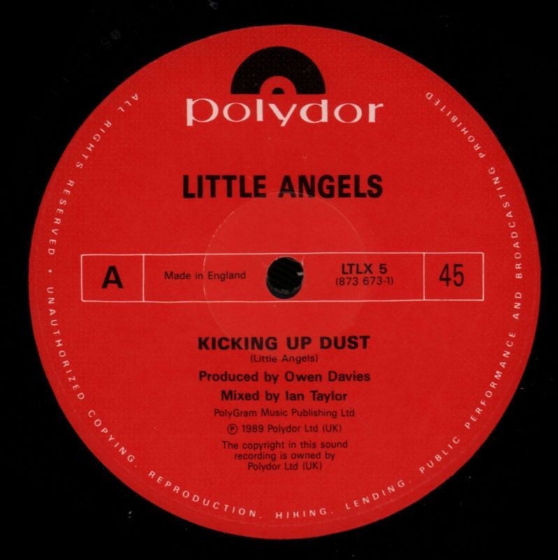 "Kicking Up Dust-Polydor-12"" Vinyl-VG+/Ex+"