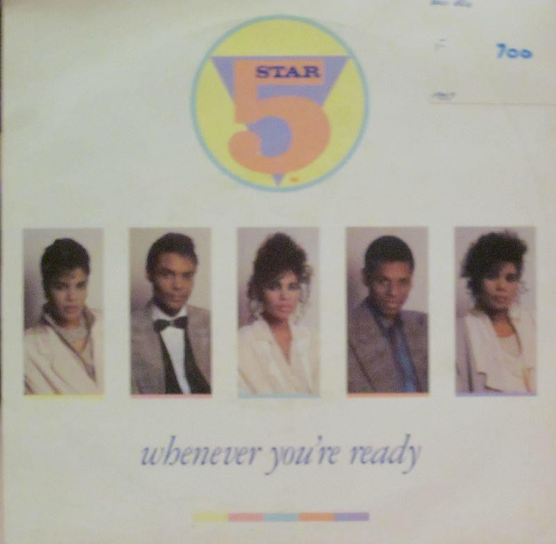 "5 Star-Whenever You're Ready-Tent-7"" Vinyl"
