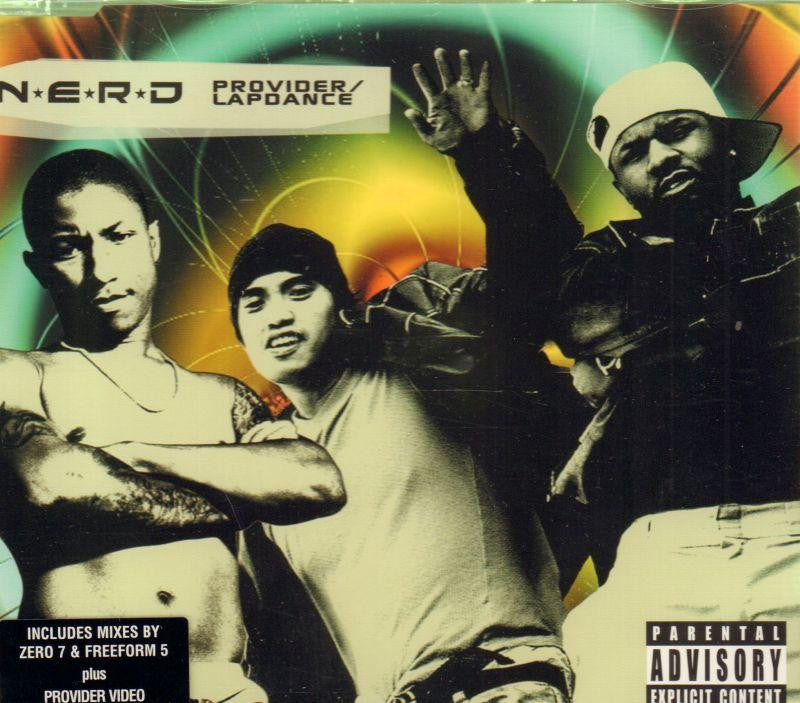 N.E.R.D.-Provider / Lapdance-CD Single