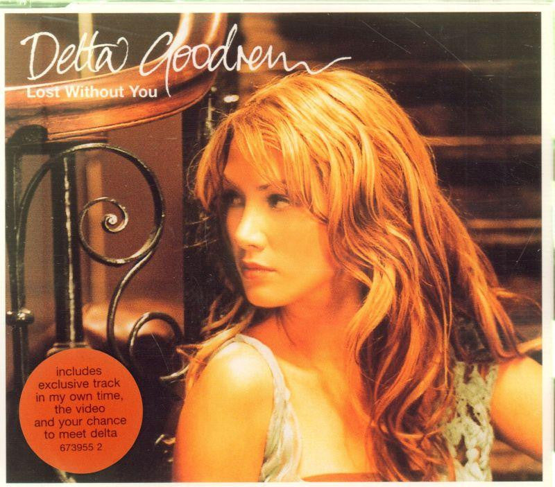 Delta Goodrem-Lost Without You CD 1-CD Single