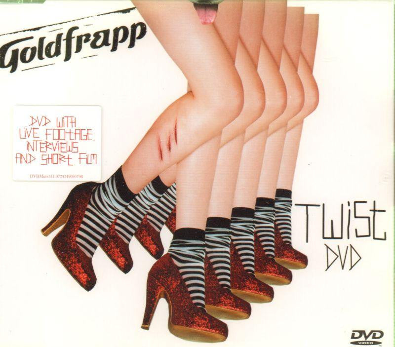 Goldfrapp-Twist-CD Single