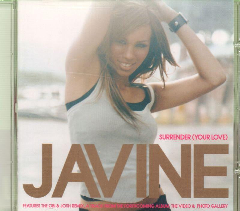 Javine-Surrender CD 2-CD Single