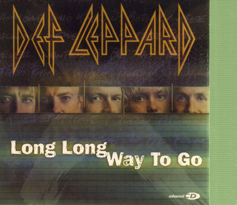 Def Leppard-Long Long Way to Go-CD Single