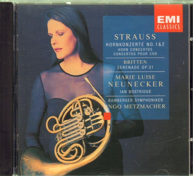Strauss-Hornkonzerte No.1 & 2-CD Album