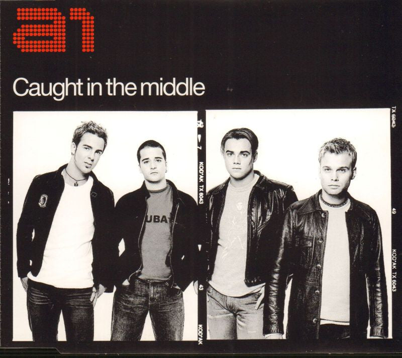 A1-Caught In The Middle-Columbia-CD Single