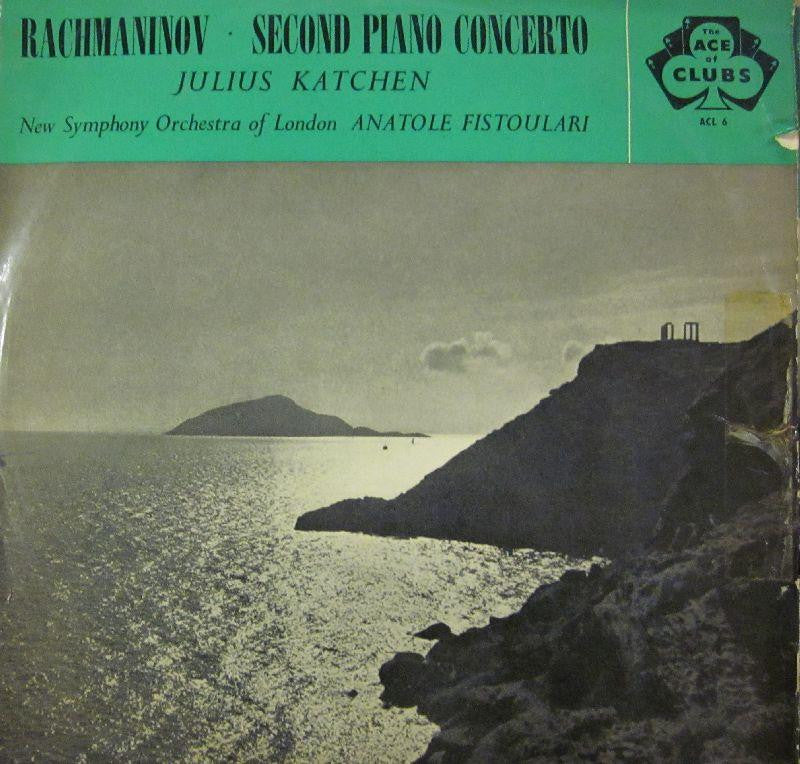 Racmaninoff-Second Piano Concerto-Ace Of Clubs-Vinyl LP