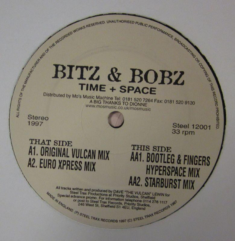 "Bitz & Bobz-Time + Space-Steel Trax-12"" Vinyl"