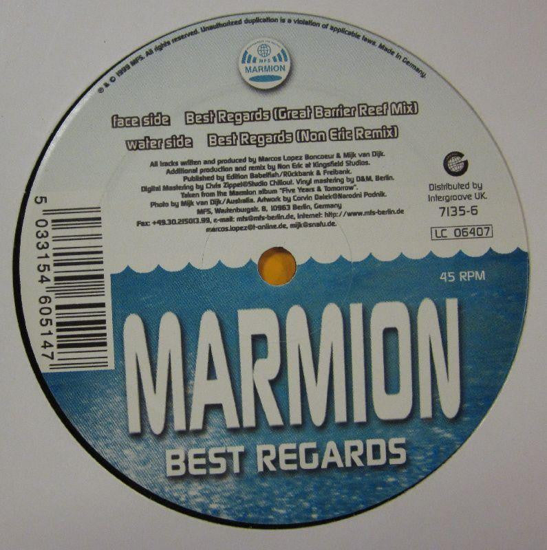 "Marmion-Best Regards-MFS-12"" Vinyl"