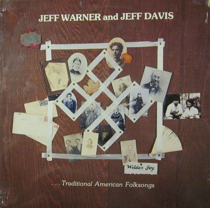 Jeff Warner & Jeff Davis-Wilder Joy-Flying Fish-Vinyl LP