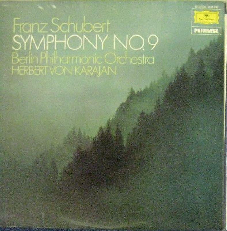 Frank Schubert-Symphony No. 9 in C Minor-Deutsche Grammophon-Vinyl LP