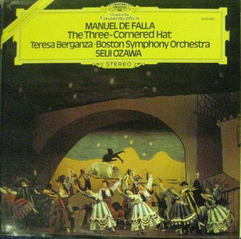 Manuel De Falla-The Three- Cornered Hat-Deutsche Grammophon-Vinyl LP