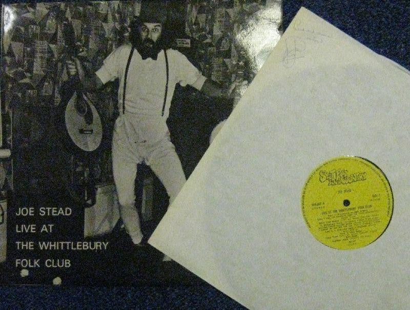 Joe Stead-Live At The Whittlebury Folk Club-Sweet Folk All-Vinyl LP