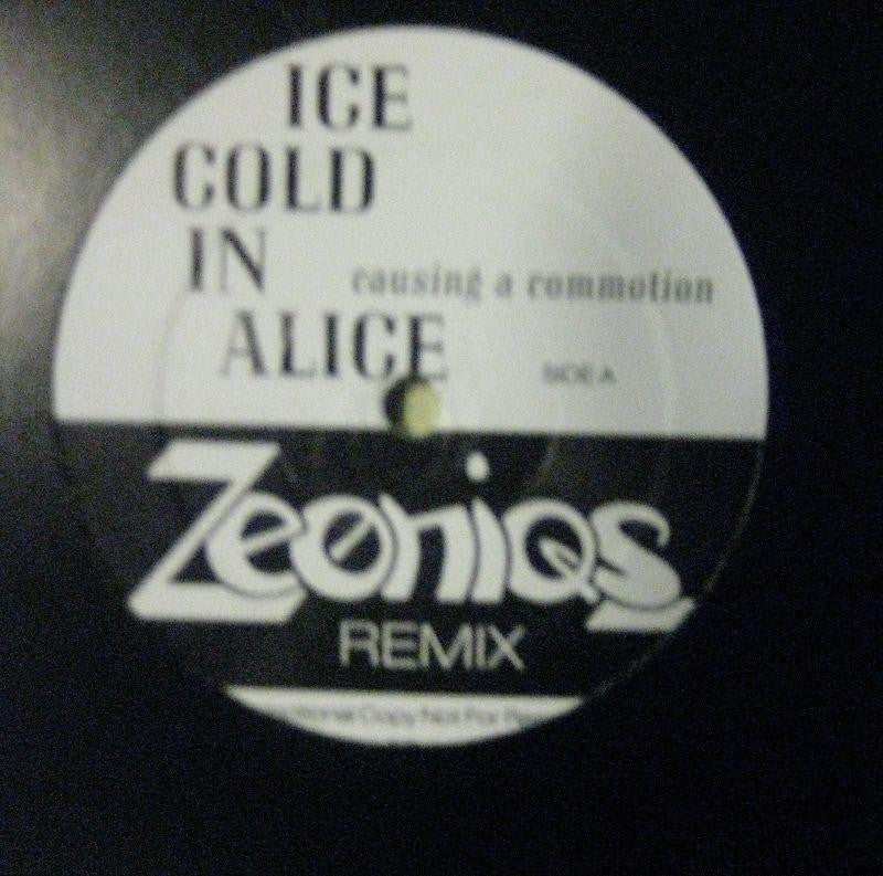 "Ice Cold In Alice-Causing A Commotion-Revelation-12"" Vinyl"