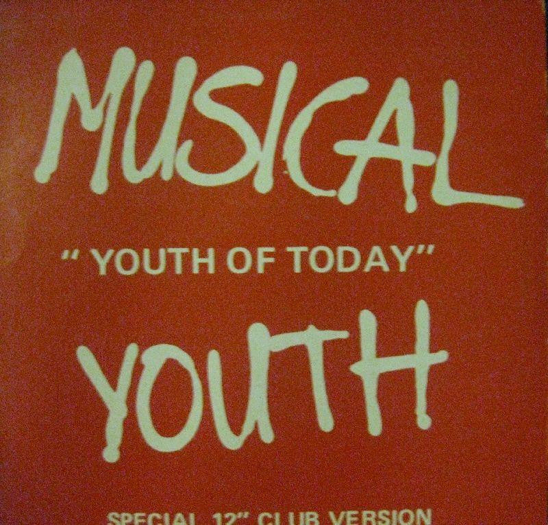 "Musical Youth-Youth Of Today-MCA-12"" Vinyl"