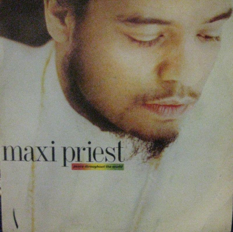 "Maxi Priest-Peace Throughout The World-10 Records-12"" Vinyl"