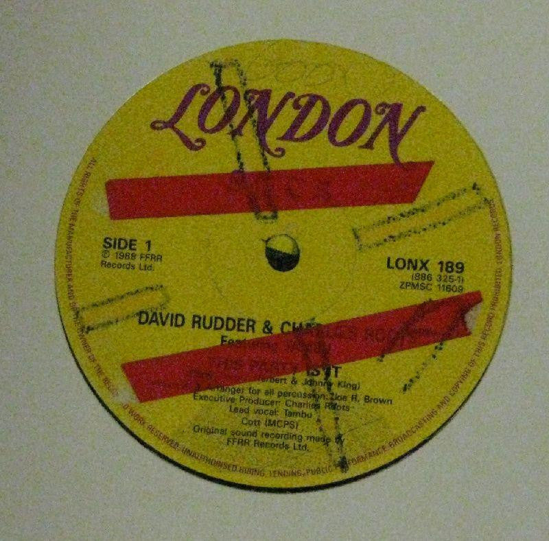 "David Rudder & Charlies Roots-This Party Is It-FFRR, London-12"" Vinyl"