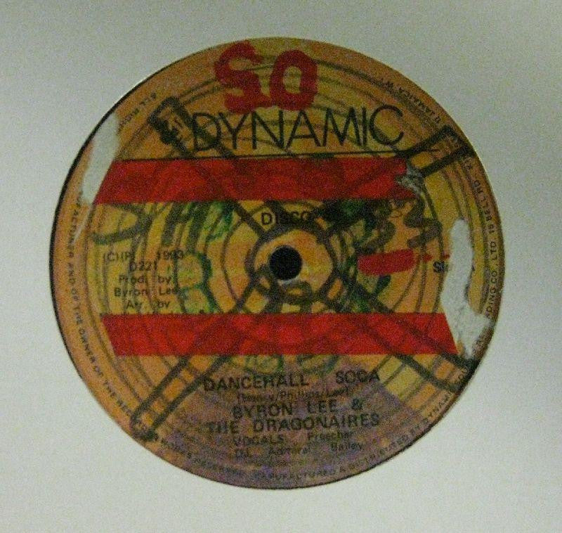 "Byron Lee And The Dragonaires-Dancehall Soca-Dynamic Sounds-12"" Vinyl"