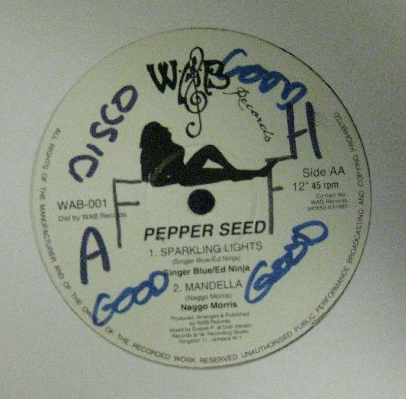 "Pepper Seed-Give Thanks And Praise-WAB-12"" Vinyl"