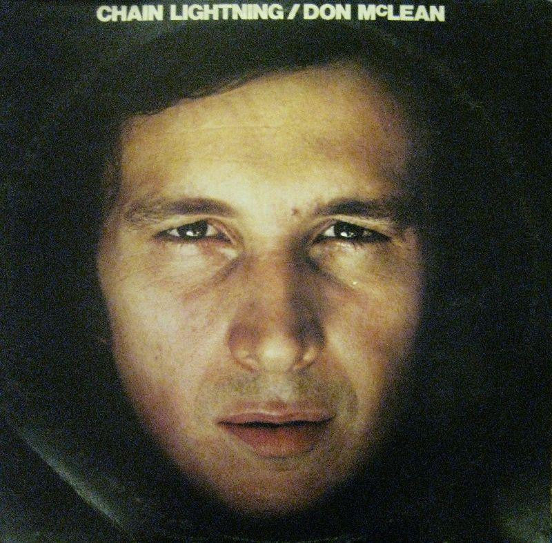 Don McLean-Chain Lightning-EMI-Vinyl LP
