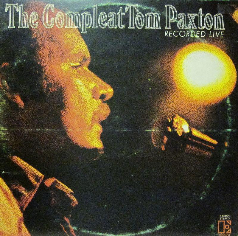 "Tom Paxton-The Compleat-Recorded Live-Elektra-2x12"" Vinyl LP Gatefold"