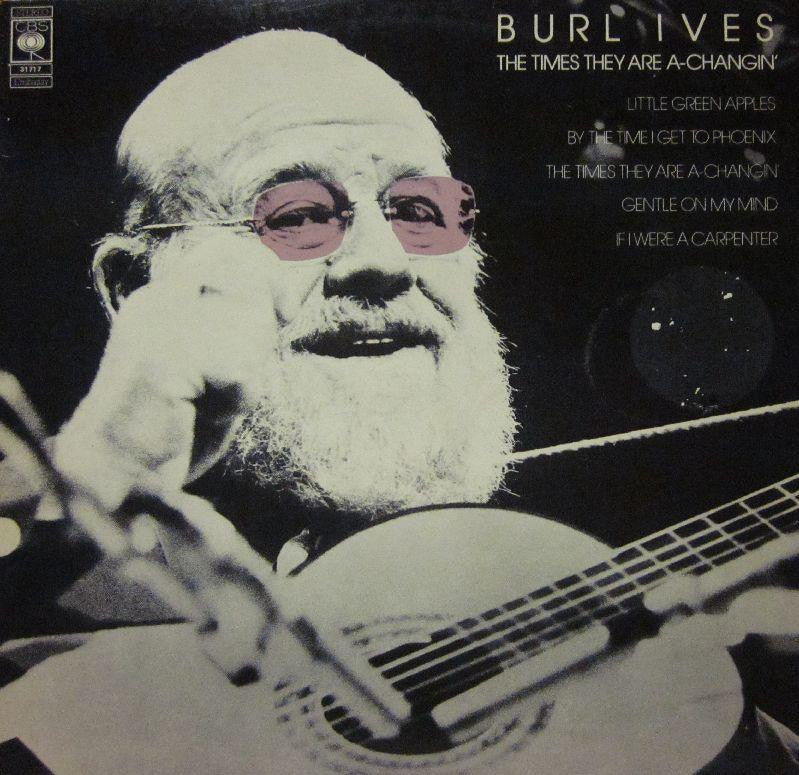Burl Ives-The Times They Are A Changin-CBS-Vinyl LP