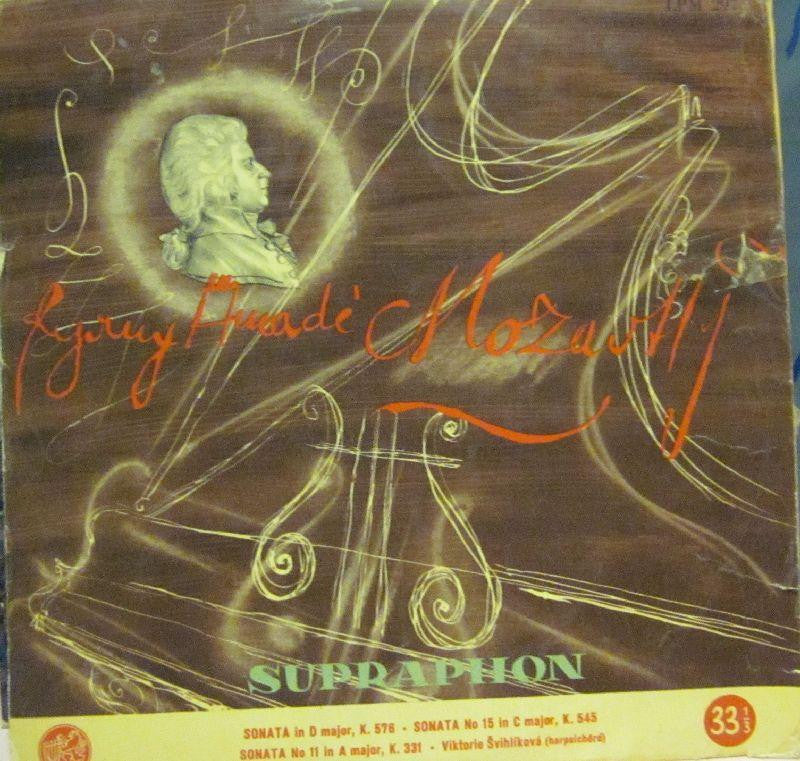 "Mozart-Sonata In D Major-Supraphon-10"" Vinyl"