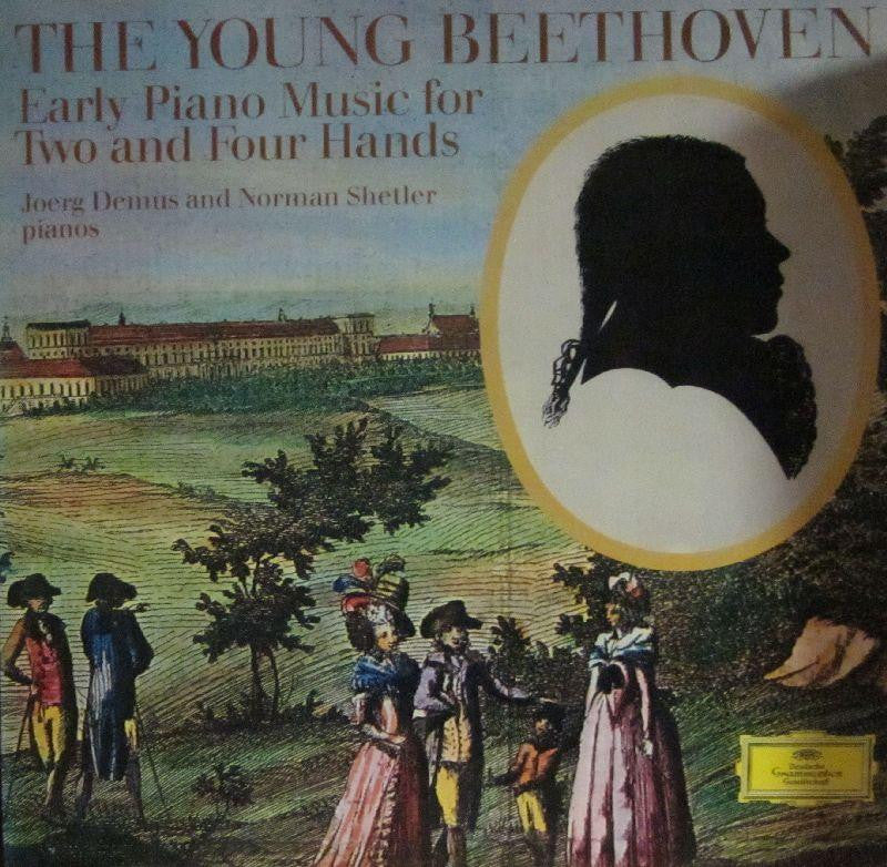Beethoven-Early Piano Music for Two & Four Hands-Deutsche Grammophon-Vinyl LP