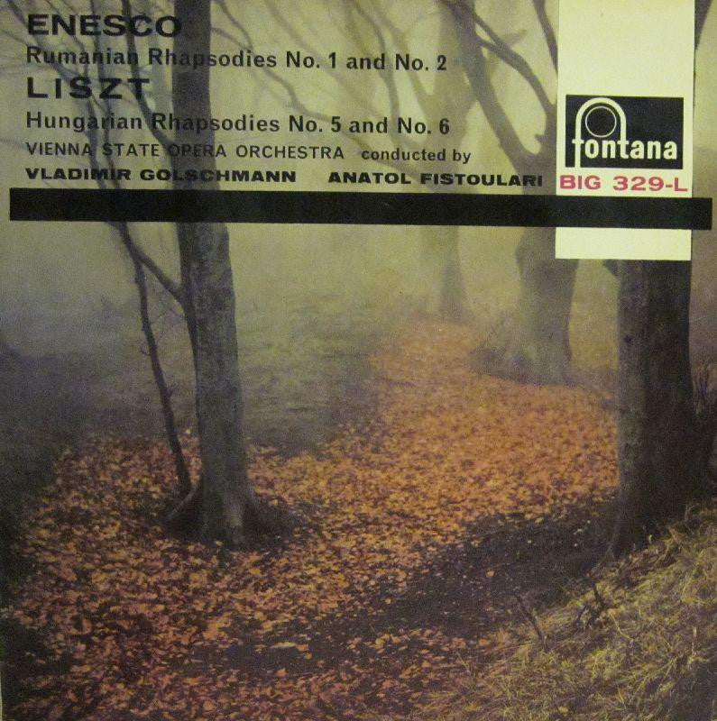 Enesco-Rumanian Rhapsodies No.1 & No.2-Fontana-Vinyl LP