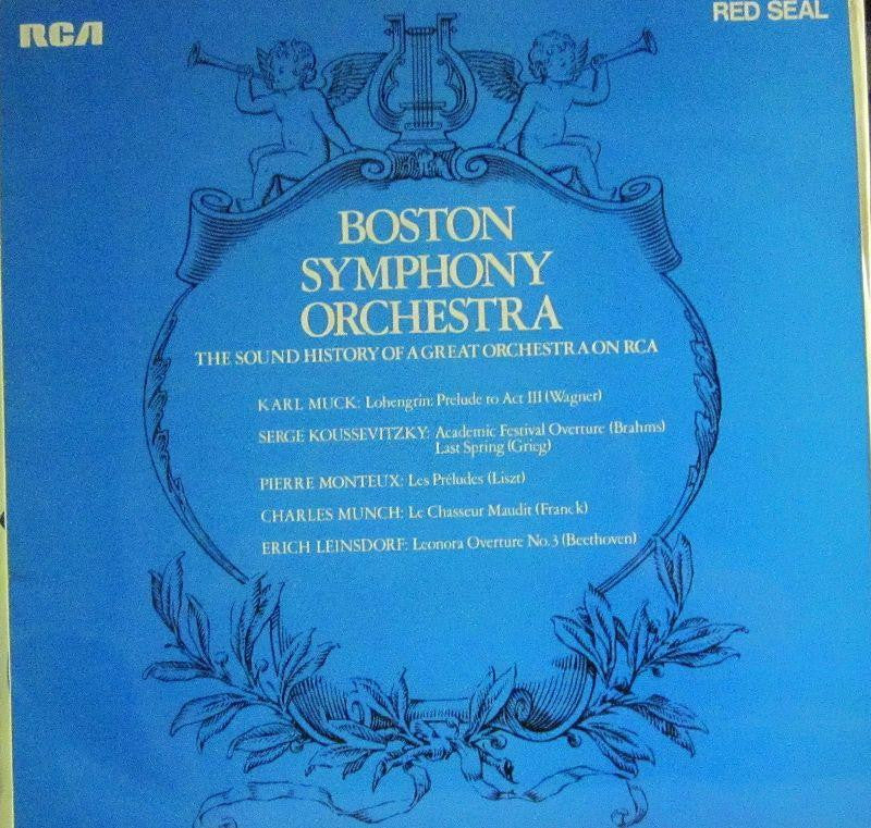 Boston Symphony Orchestra-The Sound History Of A Great Orchestra-RCA-Vinyl LP